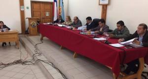 Acuerdo de concejo para solicitar asfalto de carretera de la costa